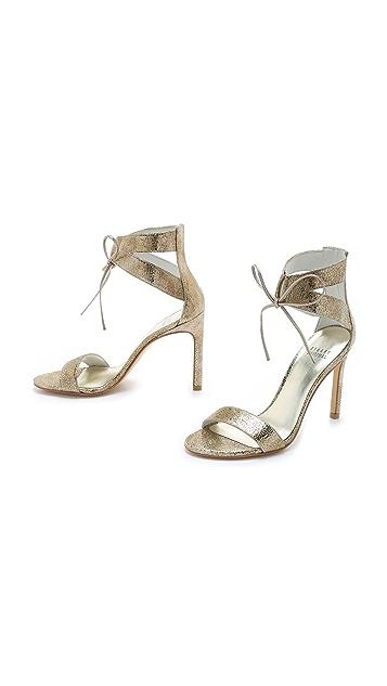 Stuart Weitzman Tynela Ankle Tie Sandals