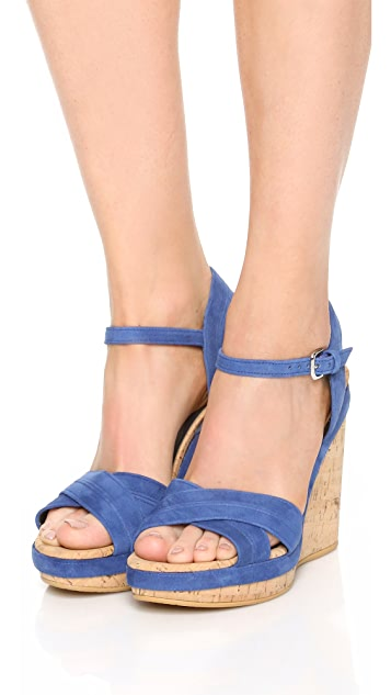 cbd56df2d7d58 Stuart Weitzman Minky Wedge Sandals  Stuart Weitzman Minky Wedge Sandals ...