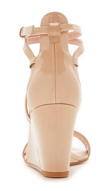 Stuart Weitzman Backdraft Wedge Sandals