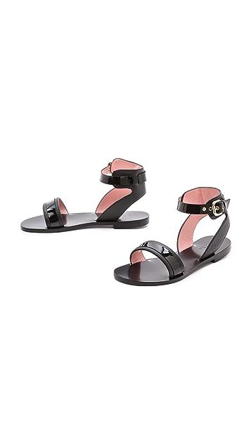 Studio Pollini Flat Sandals