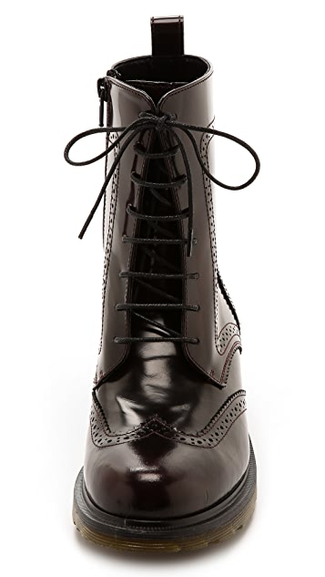 Studio Pollini Lace Up Booties