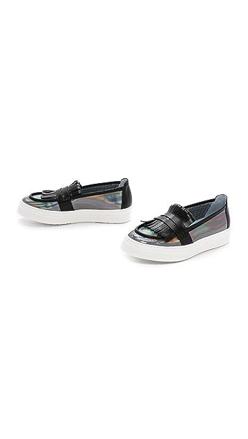 Studio Pollini Slip On Loafer Sneakers