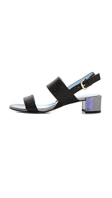 Studio Pollini Block Heel Sandals