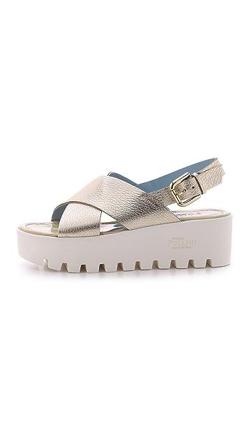 Studio Pollini Flatform Sandals