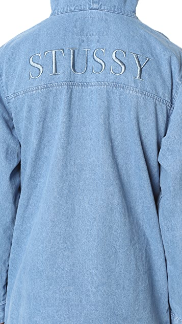 Stussy Denim Popover Jacket