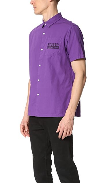 Stussy City Print Shirt