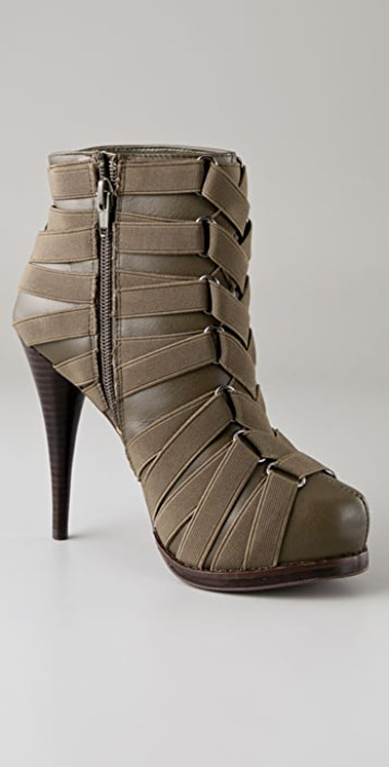 Steven Caylyn Elastic Banded Booties