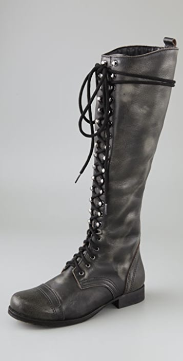 Steven Abee Lace Up Boots