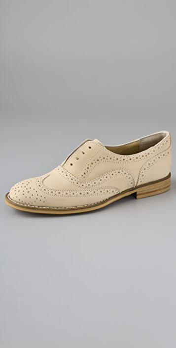 Steven Melanee Perforated Oxfords
