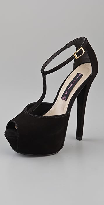 Steven Angels T Strap Pumps