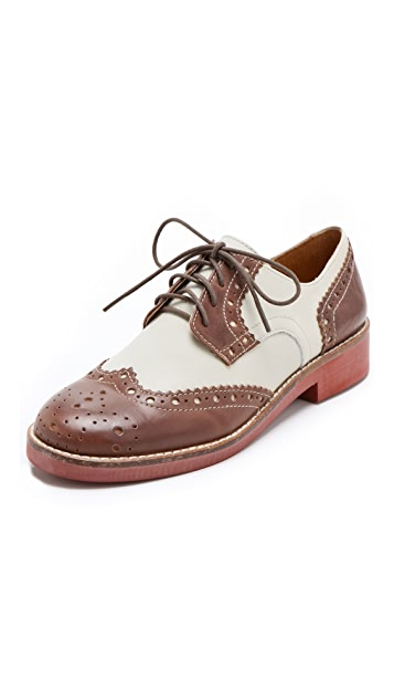 Steven Banx Two Tone Oxfords