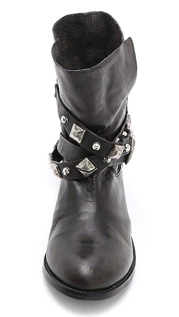 Steven Caris Moto Boots