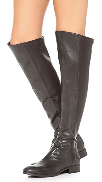 Steven Edeen Over the Knee Flat Boots