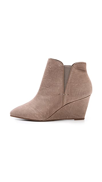Steven Jossie Low Wedge Booties