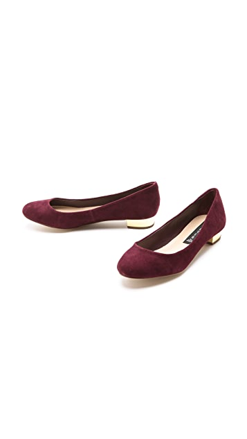 Steven Paigge Suede Low Pumps