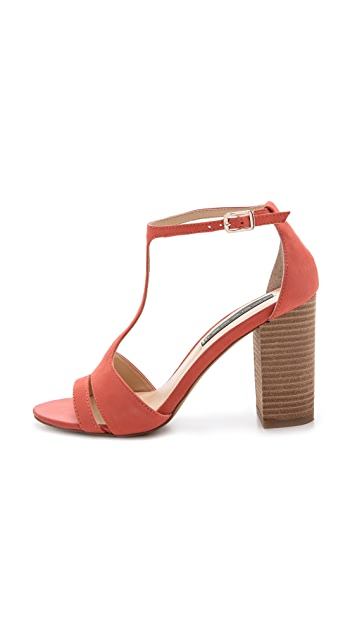 Steven Olyvia T Strap Sandals