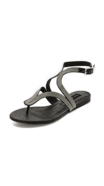 Steven Resorts Metallic Sandals
