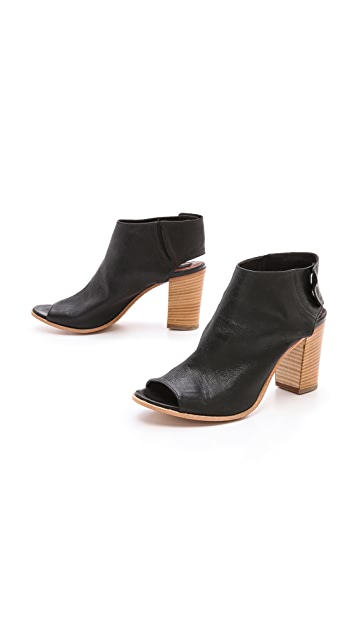 Steven Slater Open Toe Booties
