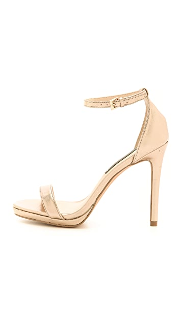Steven Rykie Metallic Sandals