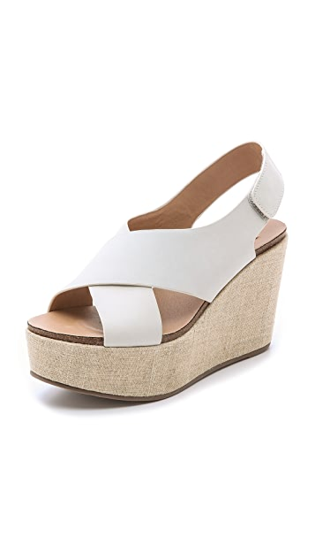 Steven Genesis Wedge Sandals