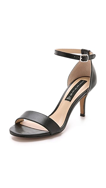 Steven Vienna Leather Sandals ...