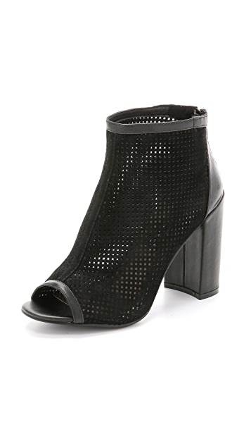 Steven Foxxi Open Toe Booties