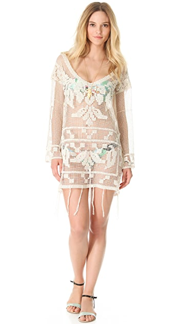 Suboo Viva Chilena Crochet Cover Up