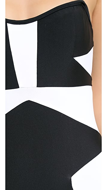 Suboo Strapless One Piece Swimsuit