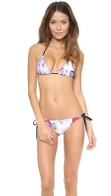 Suboo Floral Rise Triangle Bikini