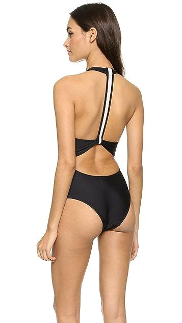 Suboo Halter Neck One Piece Swimsuit