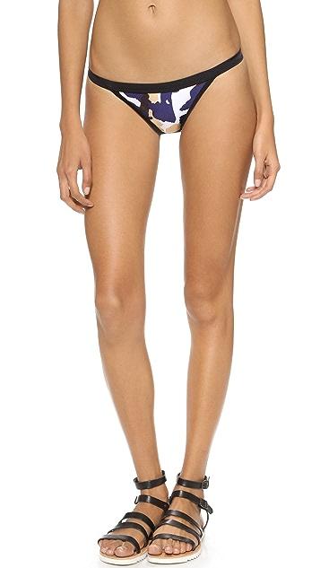 Suboo Print Brazilian Bikini Bottoms