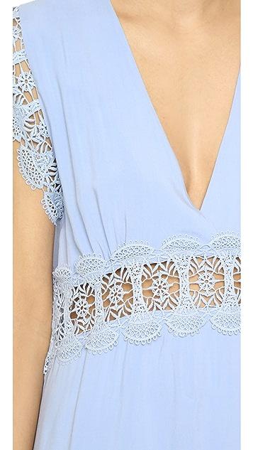 Suboo Stevie Lace Mini Beach Dress