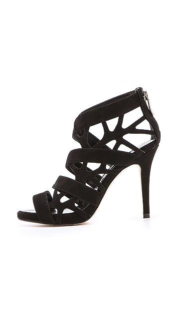 Suecomma Bonnie Web High Heel Sandals