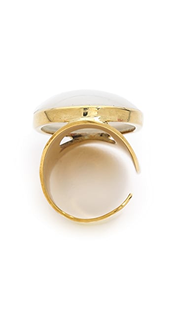 SunaharA Malibu Power Stone Ring