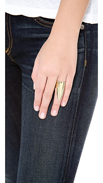 SunaharA Malibu Triangle Power Ring