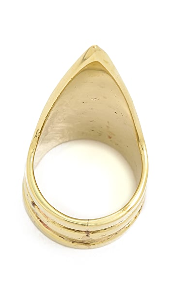 SunaharA Malibu Triangle Power Ring