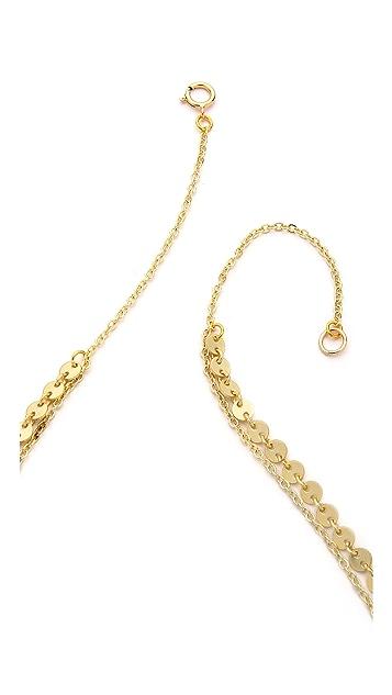 SunaharA Malibu Layered Coin Necklace