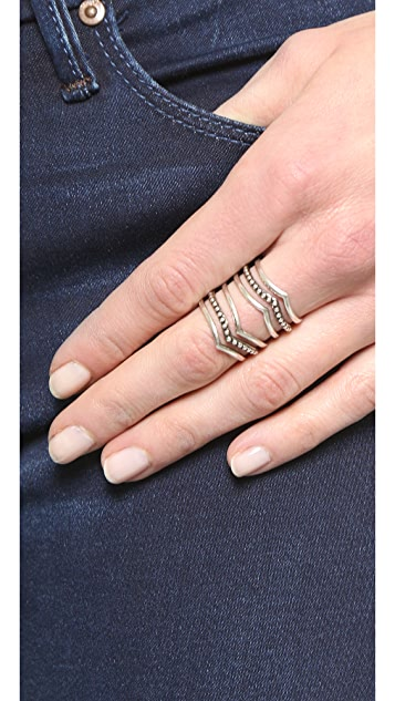 SunaharA Malibu Statement V Ring