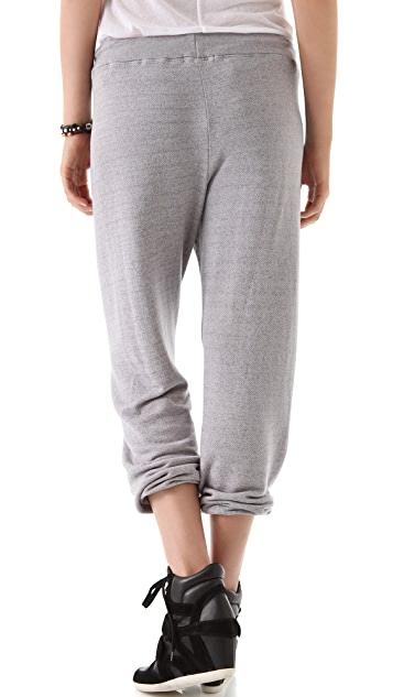 SUNDRY Cropped Vintage Sweatpants