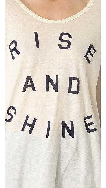 SUNDRY Rise & Shine Top