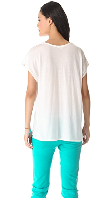 SUNDRY Short Sleeve Top