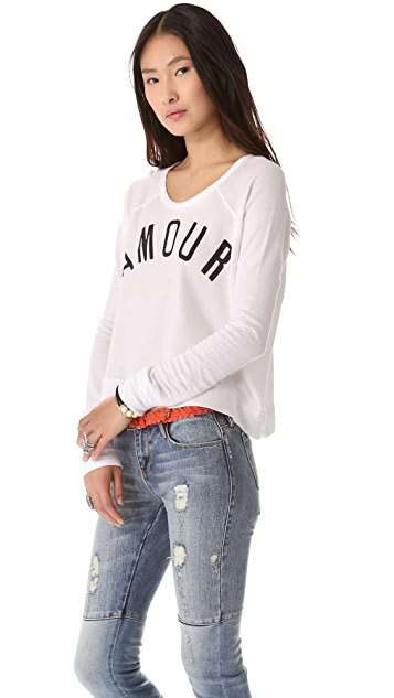 SUNDRY Amour Pullover