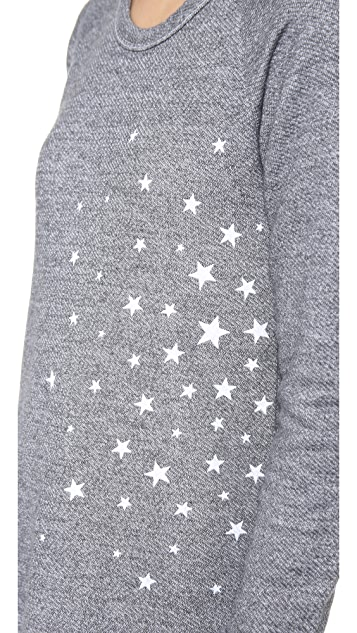 SUNDRY Long Sleeve Raglan Top