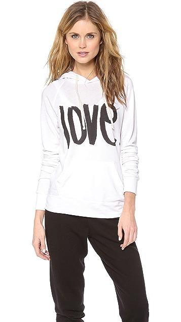 SUNDRY Love Pullover Hoodie