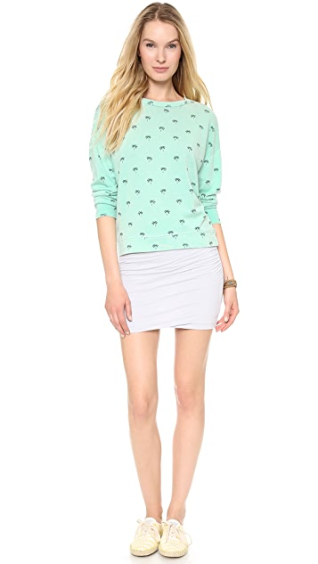 SUNDRY Palm Sweatshirt