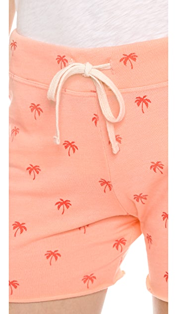 SUNDRY Palm Sweatshorts