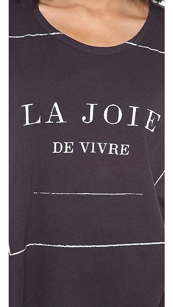 SUNDRY La Joie Tee