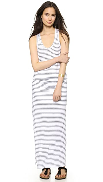 SUNDRY Summer Stripe Maxi Dress