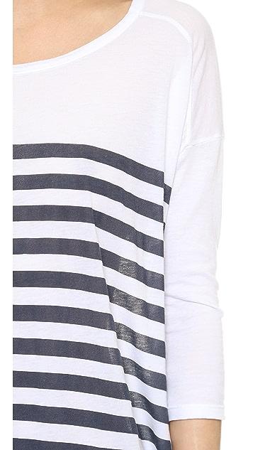 SUNDRY 3/4 Sleeve Tunic