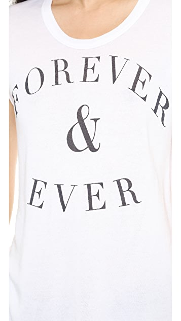 SUNDRY Forever & Ever Sleeveless Tee